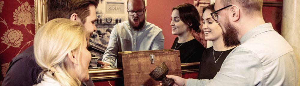 Mystery Room Escape Game i København