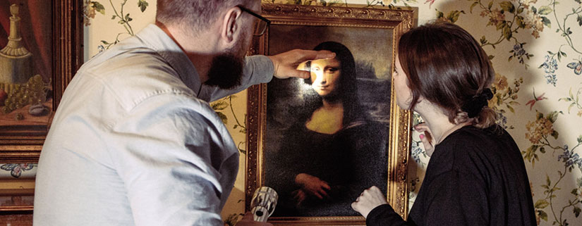 Mona Lisa Escape Room